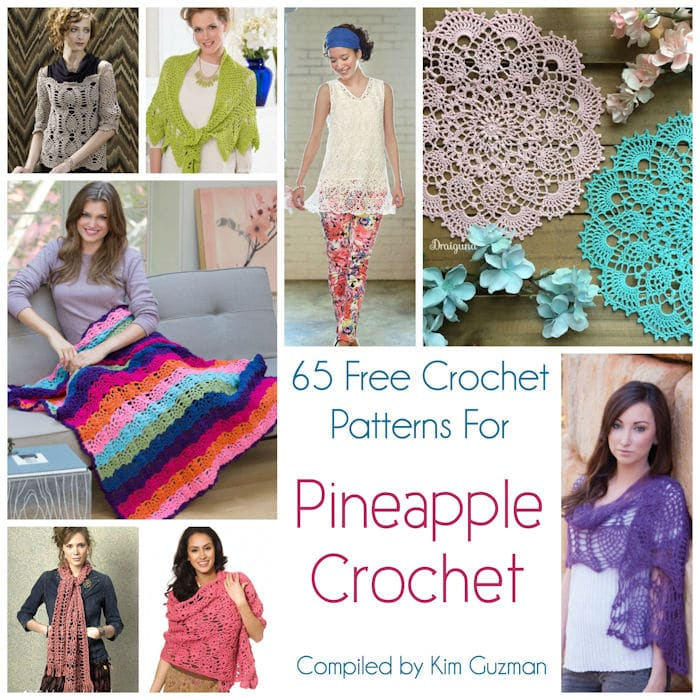 Link Blast 65 Free Crochet Patterns For Pineapple Crochet Crochetkim