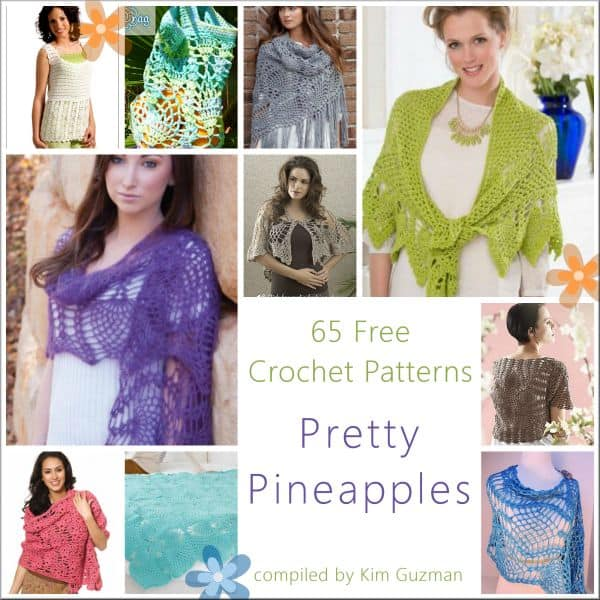 Link Blast: 65 Free Crochet Patterns for Pineapples