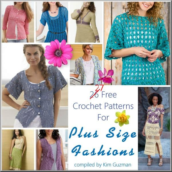Link Blast: 27 Free Crochet Patterns Available in Plus Size