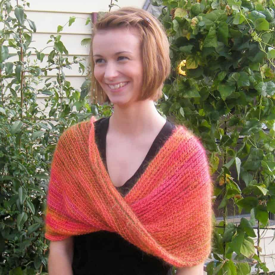 Kenzie Cowl CrochetKim Free Tunisian Crochet Pattern