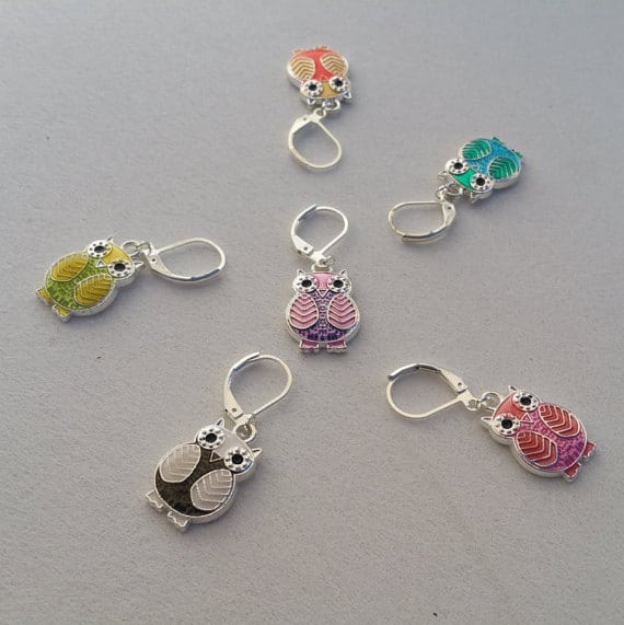 Owl Stitch Markers Giveaway