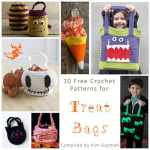Link Blast: 10 Free Crochet Patterns for Halloween Treat Bags