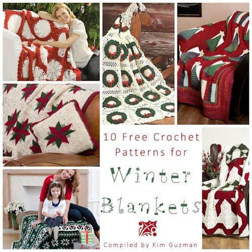 Link Blast: 10 Free Crochet Patterns for Winter Blankets