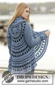 Link Blast 10 Free Crochet Patterns For Mandala Circle Jackets