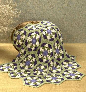 Free Crochet Pattern: Rockland Throw