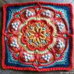Free Crochet Pattern: Pondoland Square