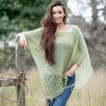 Free Crochet Pattern: African Expressions Lace Poncho