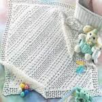 Free Crochet Pattern: C2C Diagonal Lace Afghan