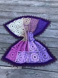 Free Crochet Pattern: Seasons of Lavender Blanket