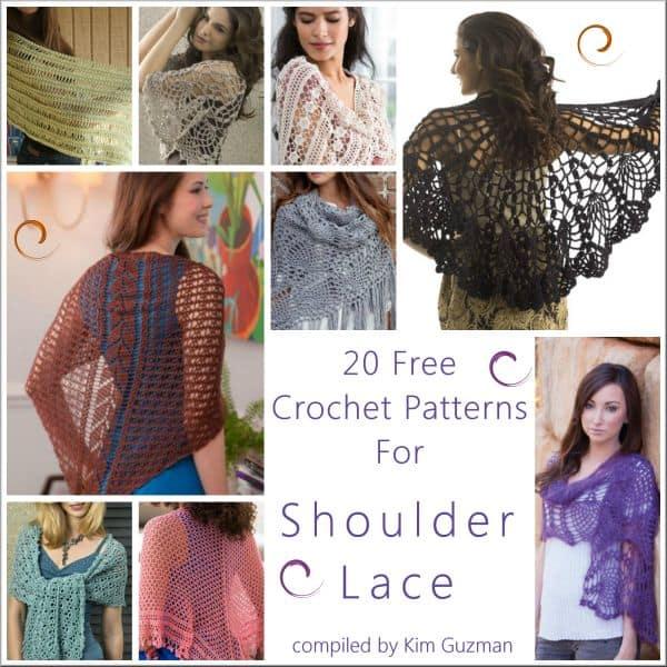 Link Blast 20 Free Crochet Patterns For Fabulous Lace Shawls
