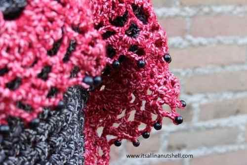 Free Crochet Pattern: Touch of Velvet Wrap