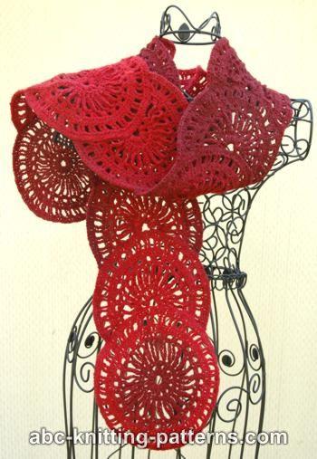 Free Crochet Pattern: Sunburst Scarf