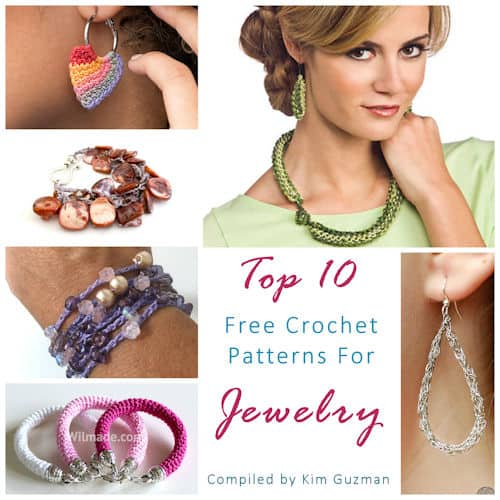 Link Blast Top 10 Free Crochet Patterns For Jewelry Crochetkim