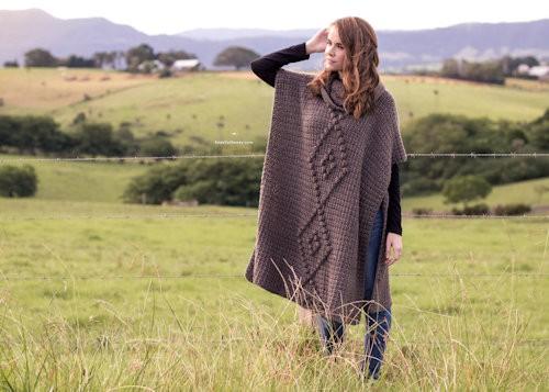 Free Crochet Pattern: Alsace Poncho
