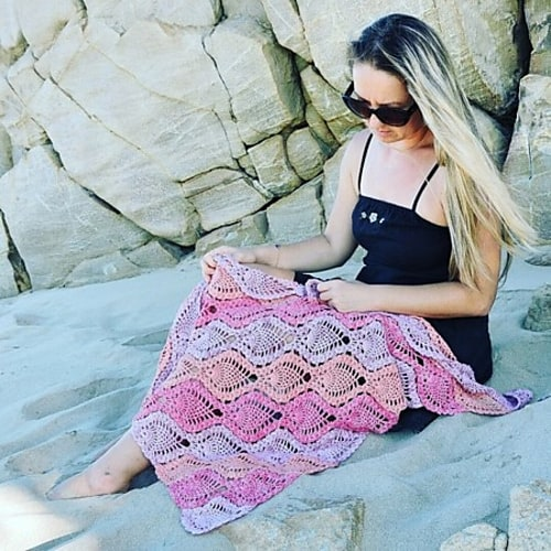 Free Crochet Pattern: Pina Colada Shawl