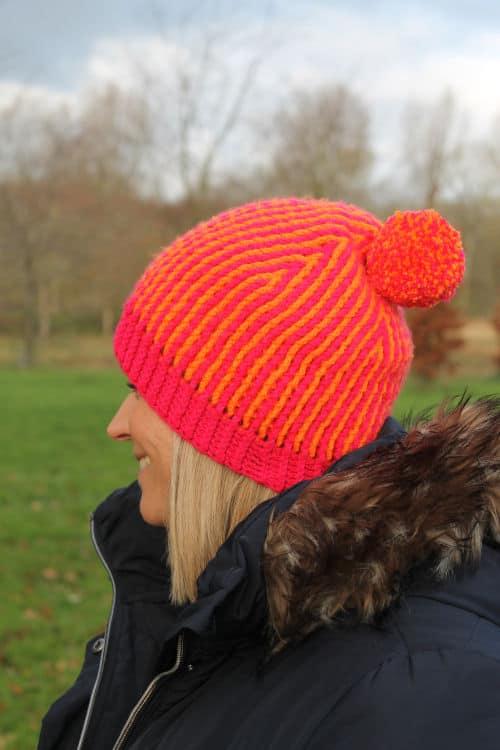 Free Crochet Pattern: Brioche Beanie
