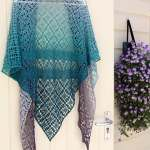 Maestrale Triangle Shawl