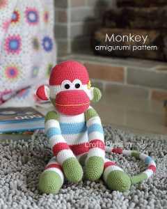 Free Crochet Pattern: Monkey Amigurumi