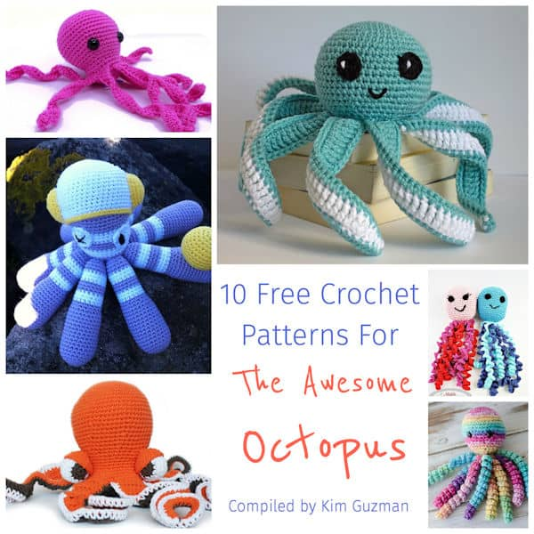 Link Blast 10 Free Crochet Patterns For The Awesome Octopus