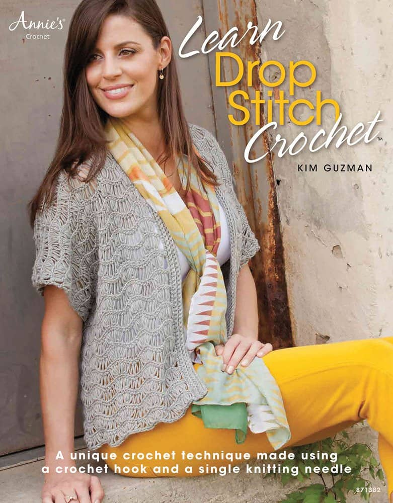 Giveaway: Learn to Drop Stitch Crochet by Kim Guzman