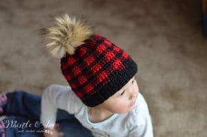 Link Blast: 10 Free Crochet Patterns for Buffalo Plaid Tartan Gingham