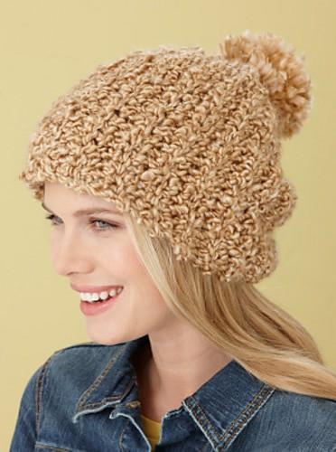 Lion Brand Yarn: Ridges Hat