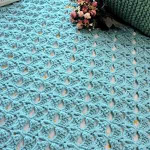 Magical Butterfly Throw CrochetKim Free Crochet Pattern