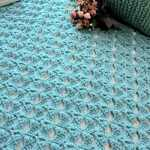 Magical Butterfly Throw Free Crochet Pattern