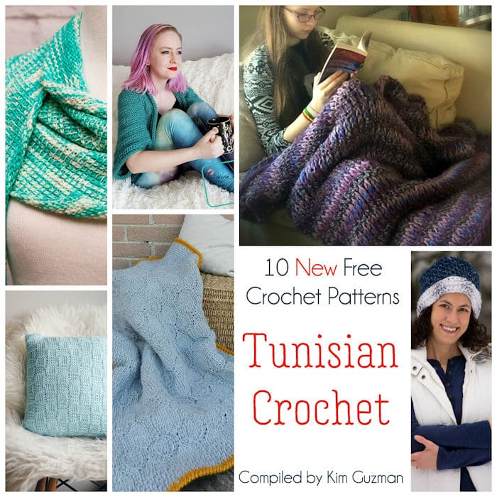 Link Blast: Find Out What's New in Tunisian Crochet with 10 Free Crochet Patterns