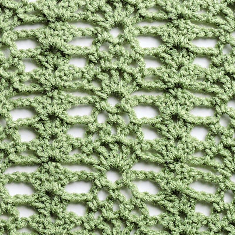 Camelot Crossings Throw | CrochetKim Free Crochet Pattern