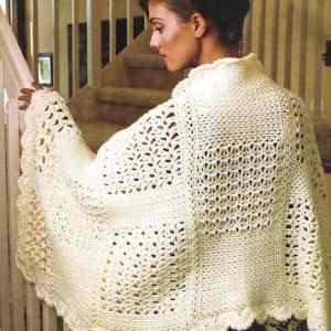 Link Blast: Free Crochet Patterns for Warm Rectangle Wraps