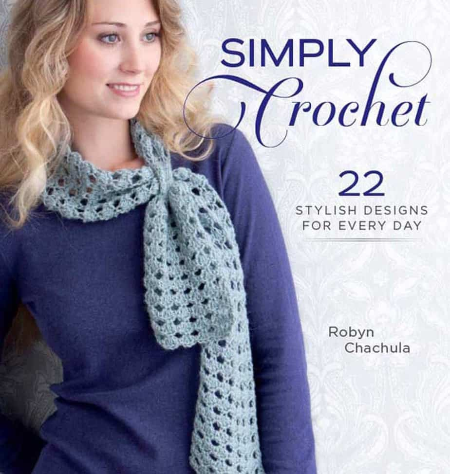 CrochetKim Giveaway: Simply Crochet by Robyn Chachula