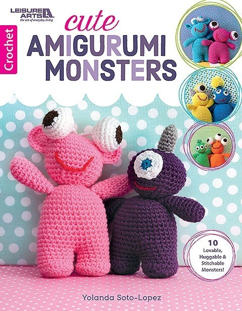 CrochetKim Giveaway: Cute Amigurumi Monsters by Yolando Soto-Lopez