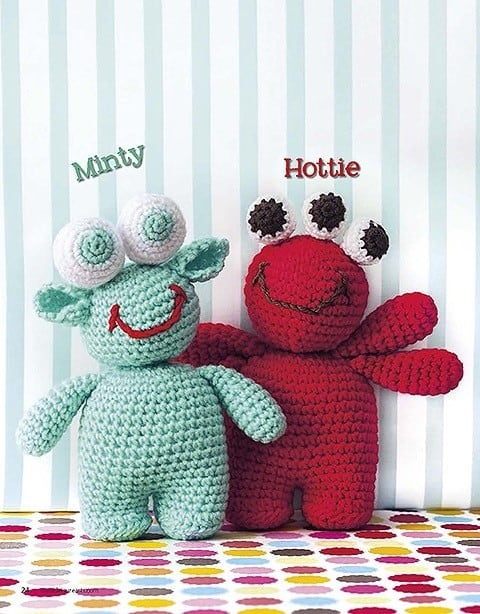 CrochetKim Giveaway: Cute Amigurumi Monsters by Yolanda Soto-Lopez