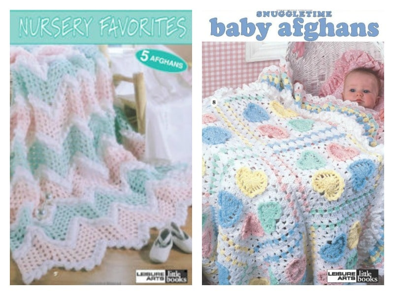 CrochetKim Giveaway: Two Leisure Arts Little Books for Baby Afghans