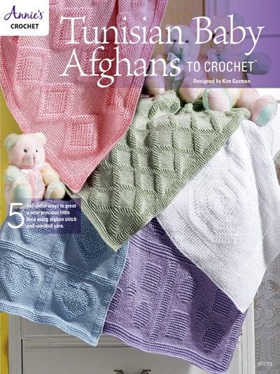 Tunisian Crochet Baby Afghans by Kim Guzman