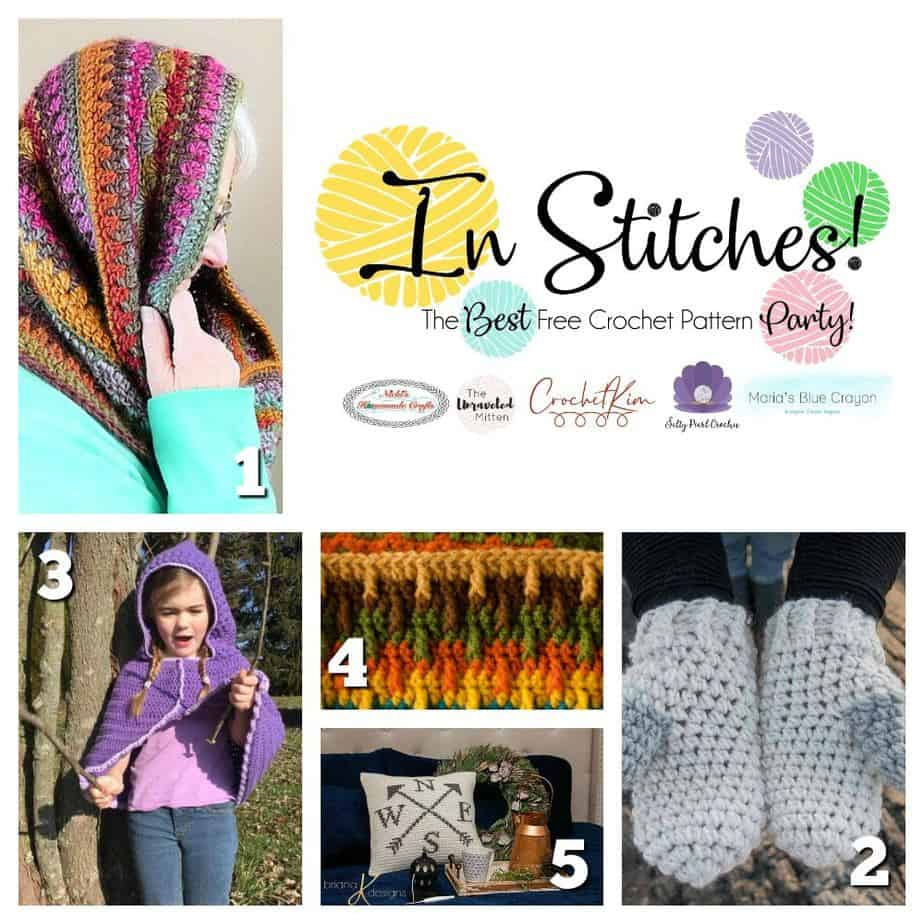 In Stitches Free Crochet Pattern Party #28