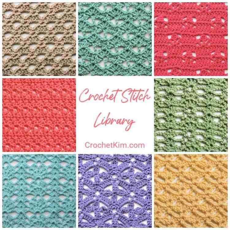 Over 30 Fabulous Free Crochet Lace Stitches: CrochetKim