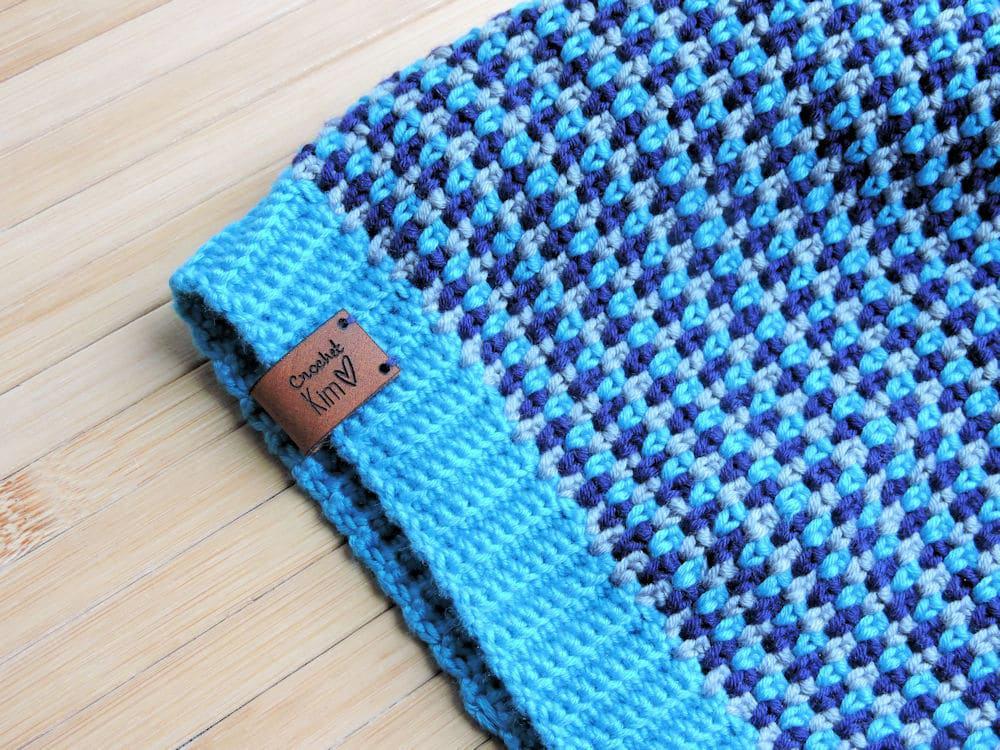 Mesmeric Dots Beanie CrochetKim Free Crochet Pattern