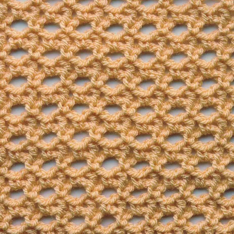 Cat's Eye Lace Free CrochetKim Crochet Stitch Tutorials