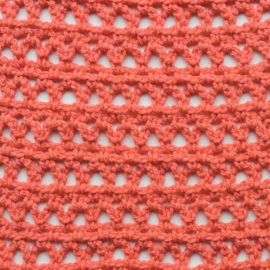 Railway Lace CrochetKim Free Crochet Stitch Tutorial