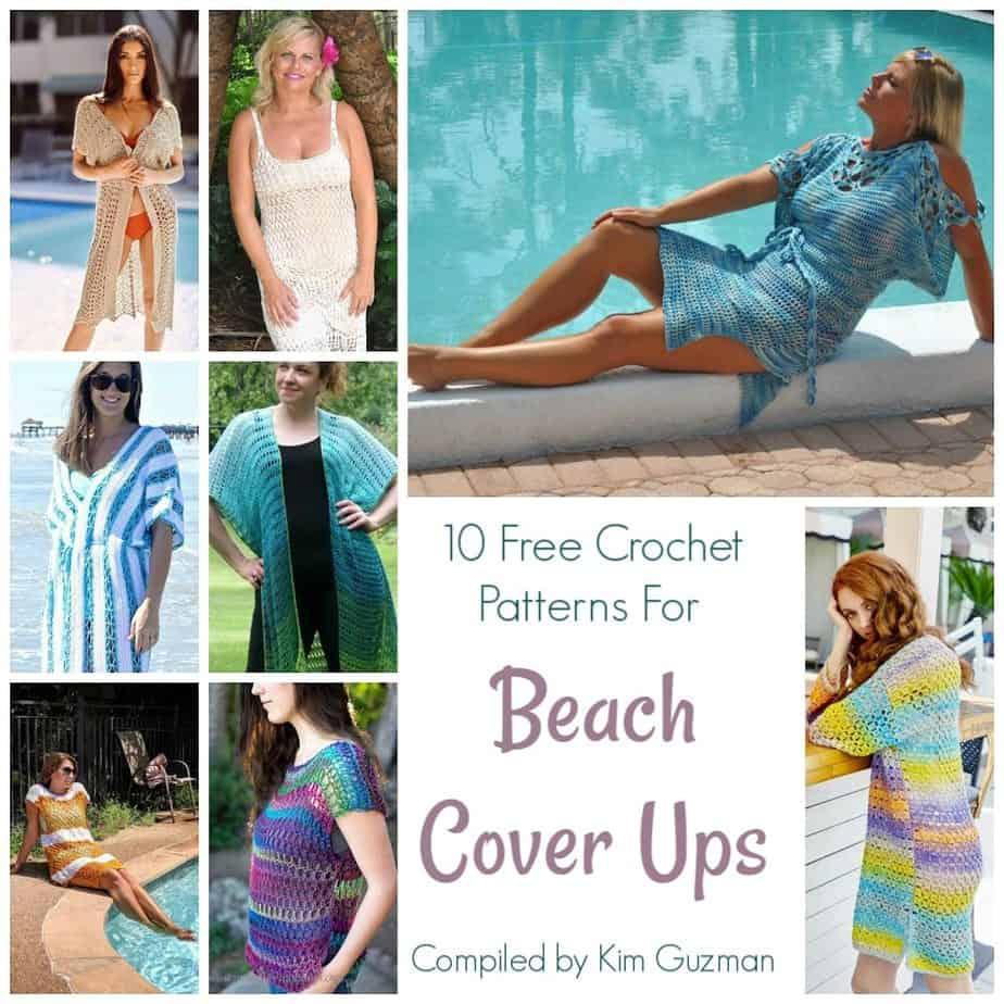 Link Blast 10 Free Crochet Patterns For Beach Cover Ups Crochetkim