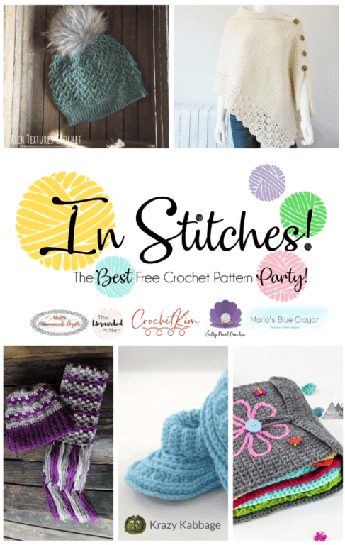 In Stitches Free Crochet Pattern Party #33