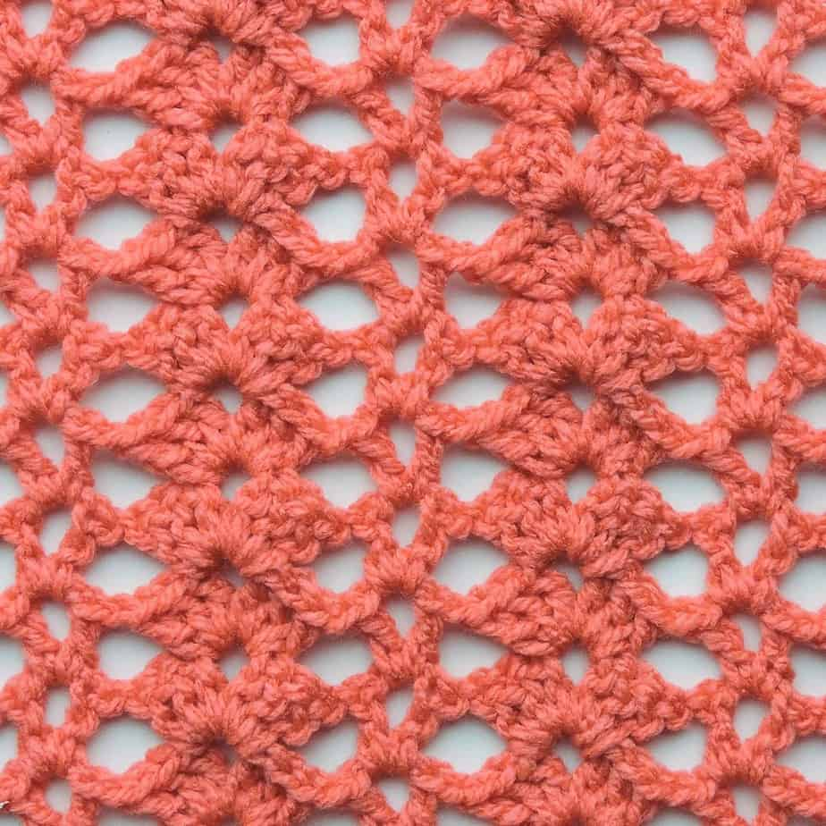 Shell Columns CrochetKim Free Crochet Stitch Tutorial