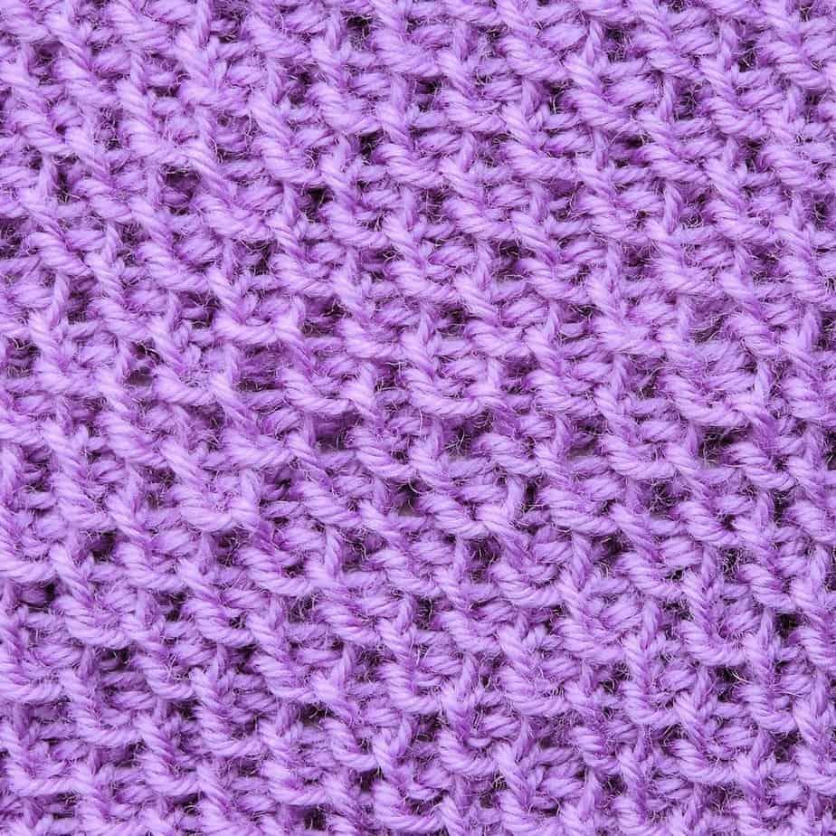 Tunisian Honeycomb Stitch with Japanese Purl CrochetKim Crochet Stitch Tutorial