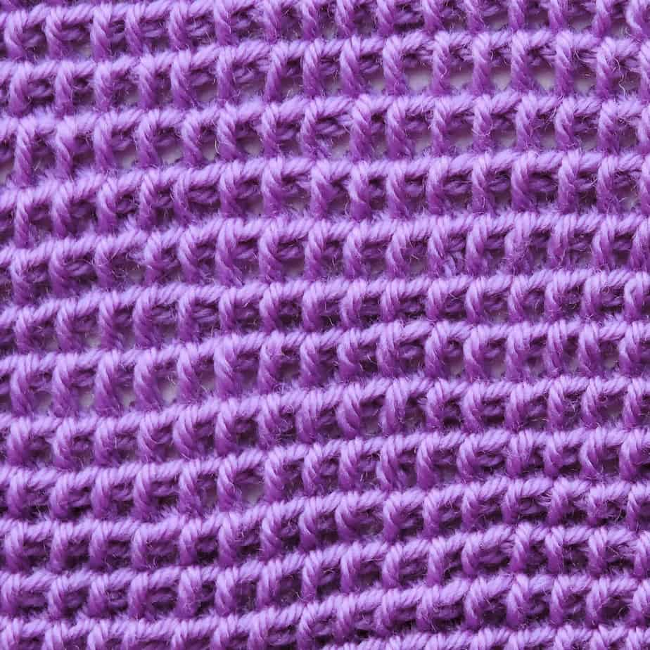 Tunisian Chain Back Bar Stitch CrochetKim Crochet Stitch Tutorial