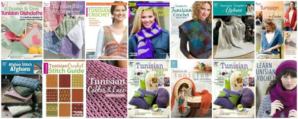 Tunisian Crochet Stitches and Patterns Beginner and Beyond