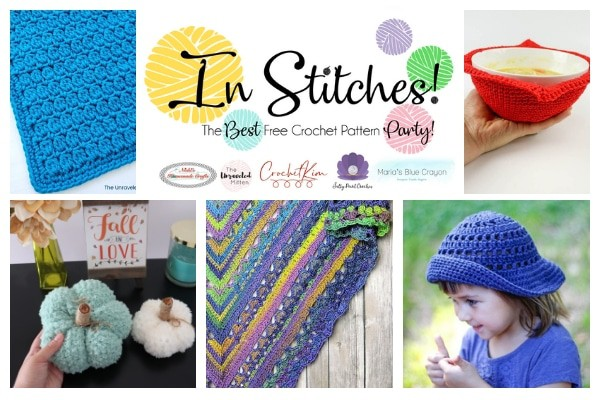 CrochetKim: In Stitches Free Crochet Pattern Party 42