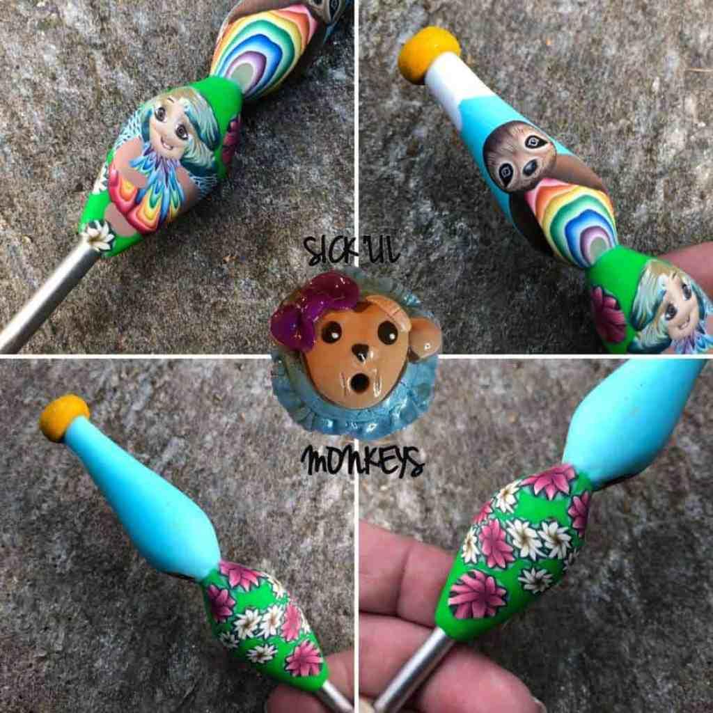 Handmade Crochet Hook Giveaway from CrochetKim | Kelli Wohlgemuth of Sick Lil Monkeys