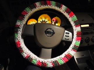 Christmas Steering Wheel Cozy
